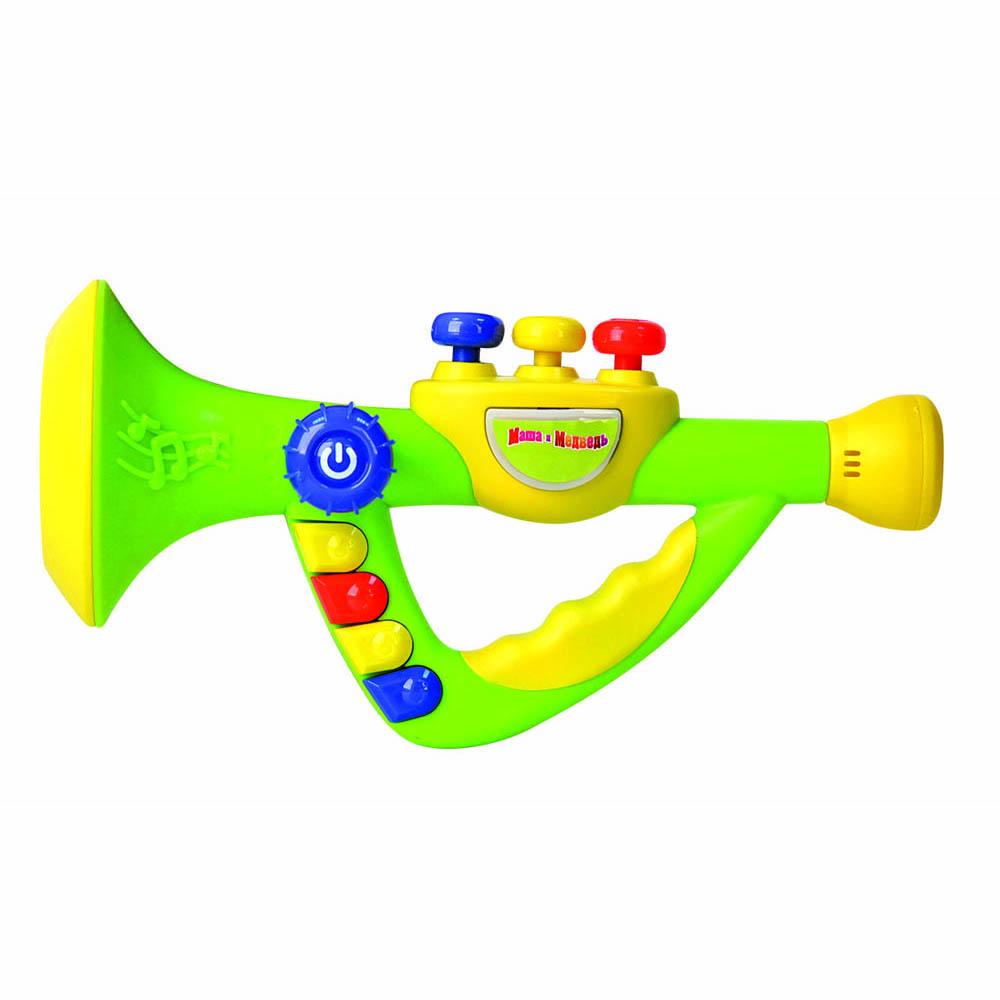 Труба GT7835 на батарейках, в коробке8811Музыкальная труба — электронная игрушка развивает музыкальный слух у малыша. Управляется несколькими функциональными кнопками: переключение разных мелодий - отбивание ритма - изменение темпа - изменение звуков трубы на звуки саксофона или флейты - световая индикация Работает от 3-х АА батареек (В комплект не входят).
