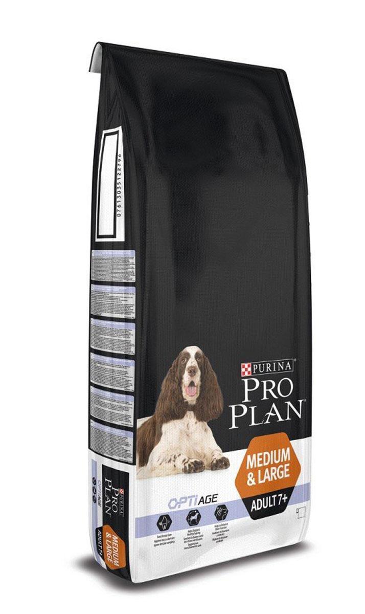 PRO PLAN Senior сухой 14 кг для стареющих собак Курица с Рисом12272557