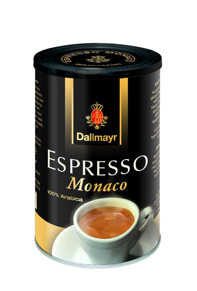 Dallmayr Esspresso Monaco кофе молотый, 200 г653000000Тонкая изысканная композиция зерен с лучших плантаций мира. Идеально подходит также для приготовления Cappuccino и Latte Macchiato. Темная степень обжарки зерна. Смесь зерен сортов Арабика с добавлением Робусты.