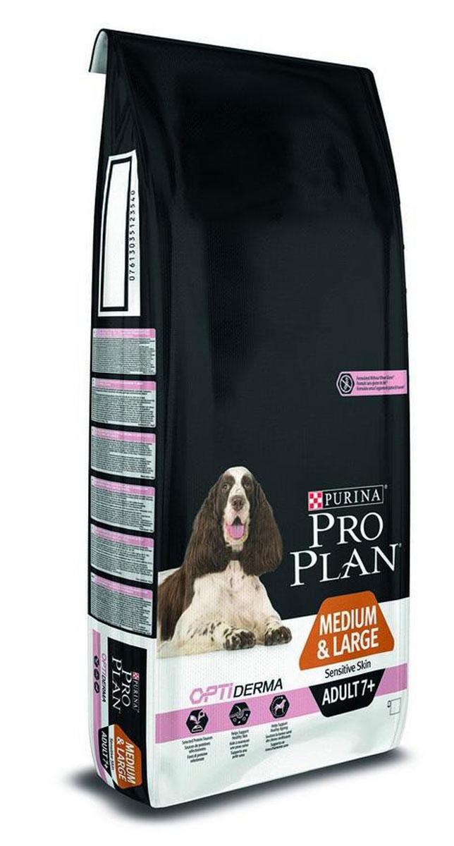 PRO PLAN Senior Sensitive сухой 14 кг для стареющих собак с чувствительным пищеварением12272547