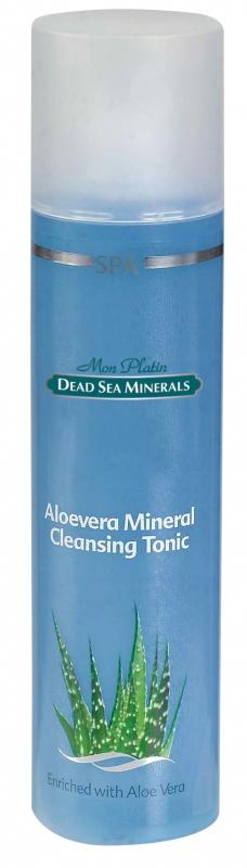 Mon Platin DSM Алоэ вера - минеральный очищающий лосьон 250 млDSM02Тоник является заключительным этапом очищения, надолго увлажняя кожу, т. к. создает неощутимую пленку на её поверхности, предотвращая потерю влаги. Прекрасно тонизирует кожу лица, увлажняет, предотвращает воспалительные процессы. Тоник насыщен Минералами (26 минералов) и солью Мертвого моря, что благоприятно влияет на питание кожи, обладает омолаживающим и регенерирующим эффектом. Камфара оказывает противобактериальное действие. Аллантоин (зародыши пшеницы), оказывает смягчающее и увлажняющее действие, стимулирует процесс заживления ран и обновление клеток эпидермиса. Оказывает благоприятное воздействие в условиях повышенной агрессии окружающей среды (ветер, палящее солнце, значительные перепады температур и влажности). Для ежедневного применения утром и вечером. Тоник является заключительным этапом очищения, надолго увлажняя кожу, т. к. создает неощутимую пленку на её поверхности, предотвращая потерю влаги. Прекрасно тонизирует кожу лица, увлажняет, предотвращает воспалительные...