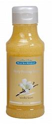 Mon Platin DSM Мыло-пилинг для тела (ваниль) 400 млDSM171Мыло-пилинг для тела с натуральными экстрактами лаванды, ванили, ромашки прекрасно подходит для удаления ороговевших и отмерших клеток кожи, улучшая таким образом ее внешний вид и способствуя регенерации. Витамин Е устраняет шелушение и сухость, делает кожу гладкой и эластичной. Пилинговые частицы разглаживают мелкие морщинки, способствуют выводу из организма токсинов и вредных веществ.