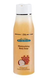 Mon Platin DSM Увлажняющее мыло для тела - успокаивающий эффект (кокос и мёд) 500 млDSM181Увлажняющее мыло для тела – успокаивающий эффект с кокосовым маслом и мёдом прекрасно очищает, увлажняет и освежает кожу. Содержит кокосовое масло, которое успокаивает воспалённую кожу, и мёд, который питает кожу и придаёт ей эластичность. В состав препарата входят также минералы Мёртвого моря. Совместное воздействие натуральных компонентов и новейших составляющих мыла успокаивает кожу и придаёт ей нежный аромат.