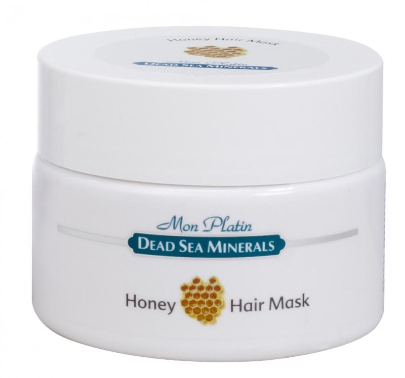 Mon Platin DSM Медовая маска для волос 250 млDSM61Маска предназначена для сухих волос и волос, поврежденных в результате вредного воздействия окружающей среды, химической завивки, горячего воздуха фена, частых окрашиваний волос. Маска насыщена Минералами (26минералов) и солью Мертвого моря, что благоприятно влияет на питание кожи головы и обеспечивает прекрасное комплексное питание для волос. Витамин «Е» - мощный антиоксидант. Он укрепляет мембраны клеток, стимулирует кожное дыхание и кровообращение, увлажняет, питает, снимает раздражение кожи головы, эффективно защищает волосы от солнечного излучения. Прополис и мёд оказывают мягкое антисептическое действие, защищают волосы от излишней сухости, истончения, образования чешуек, а также усиливает рост волос. Диметикон, входящий в состав маски формирует защитный барьер, предотвращает трансдермальную потерю влаги. Он покрывает волосы тончайшей неощутимой пленкой, которая защищает их от горячего воздуха фена и солнечного излучения.