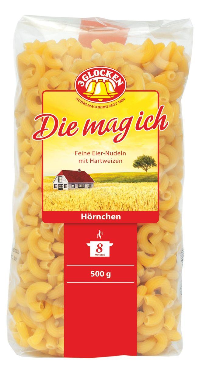 3 Glocken Hornchen рожки, 500 г DMI 500811