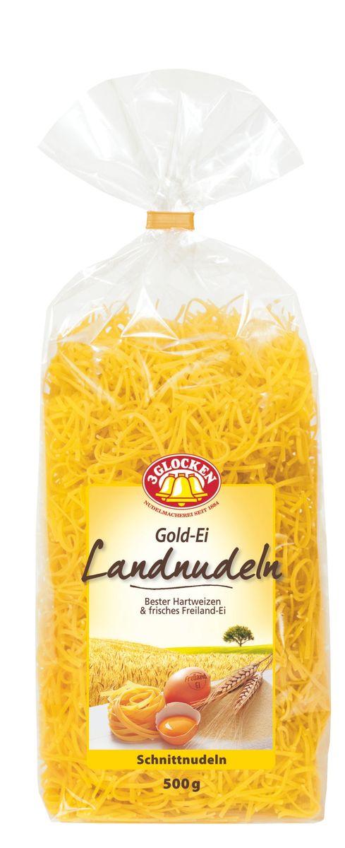 3 Glocken Gold-Ei Landnudeln мелкая лапша, 500 г