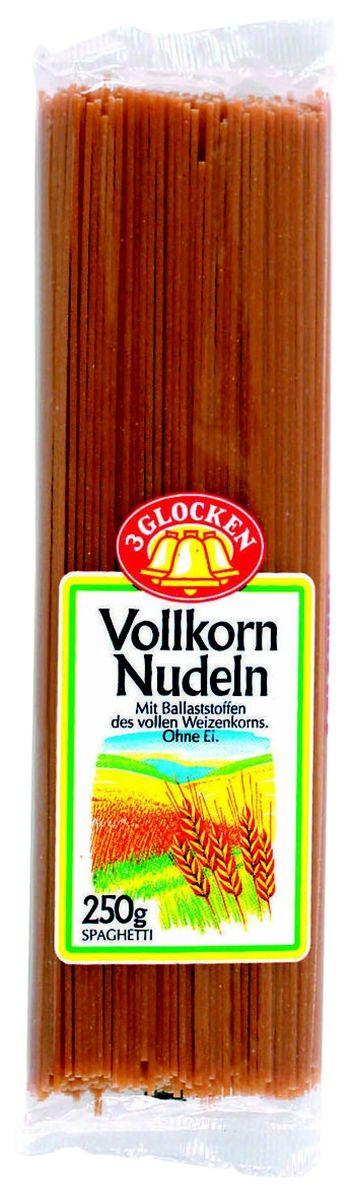 3 Glocken Spagetti Vollkornnudeln спагетти диетические, 250 г