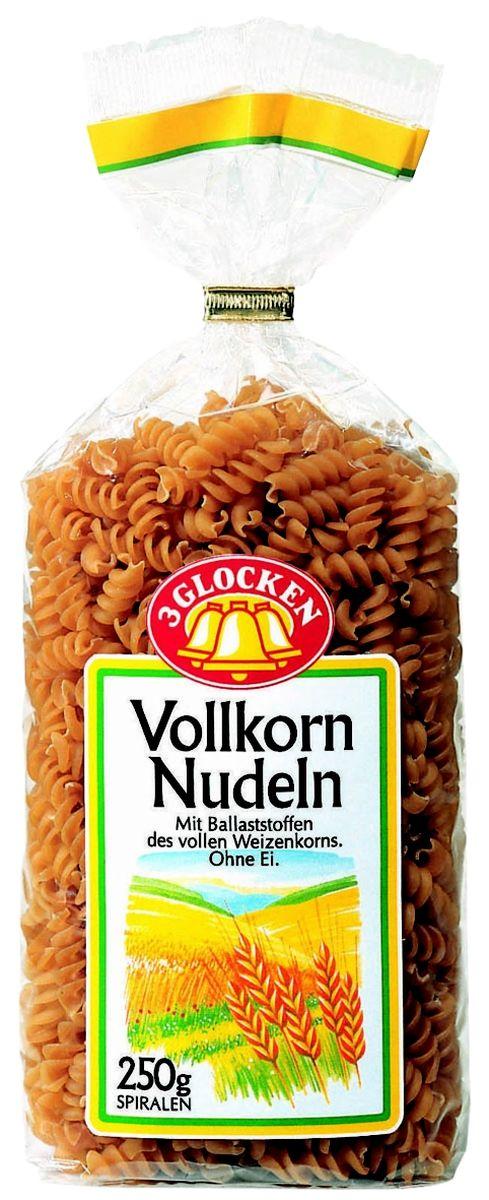 3 Glocken Spiralen Vollkornnudeln спирали диетические, 250 гVN 705476Продукция 3 Glocken - это макаронные изделия высшего качества, произведенные из 100% твердых сортов пшеницы. Изысканный вкус, большой выбор фигурных макарон традиционных и оригинальных форм, различная фасовка, наилучшее соотношение в плане цена=качество. Продукция представлена на рынке более 15 лет и за это время отлично зарекомендовала себя среди огромного количества покупателей. Яркая оригинальная упаковка заметно выделяется на полках магазинов и привлекает к себе внимание потребителей. До сих пор ни один из покупателей не отказывался от продукции 3 Glocken, что подтверждается высокими продажами бренда на Российском рынке. Макароны Spiralen Vollkornnudeln изготовлены из муки твердых сортов, содержащей чуть меньшее количество клейковины, чем обыкновенная мука. Она хорошо поглощает воду, макароны из нее при варке увеличиваются и не развариваются. Варить макаронные изделия 15 минут в подсоленной воде. Условия хранения: в сухом прохладном месте при...
