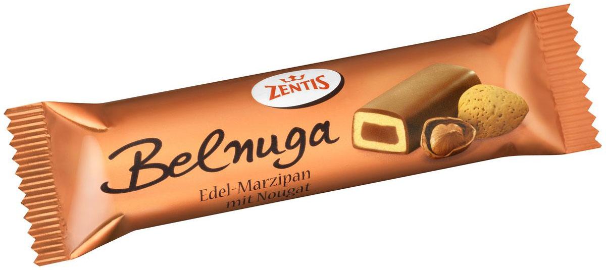 Zentis Belnuga марципановый батончик, 60 г