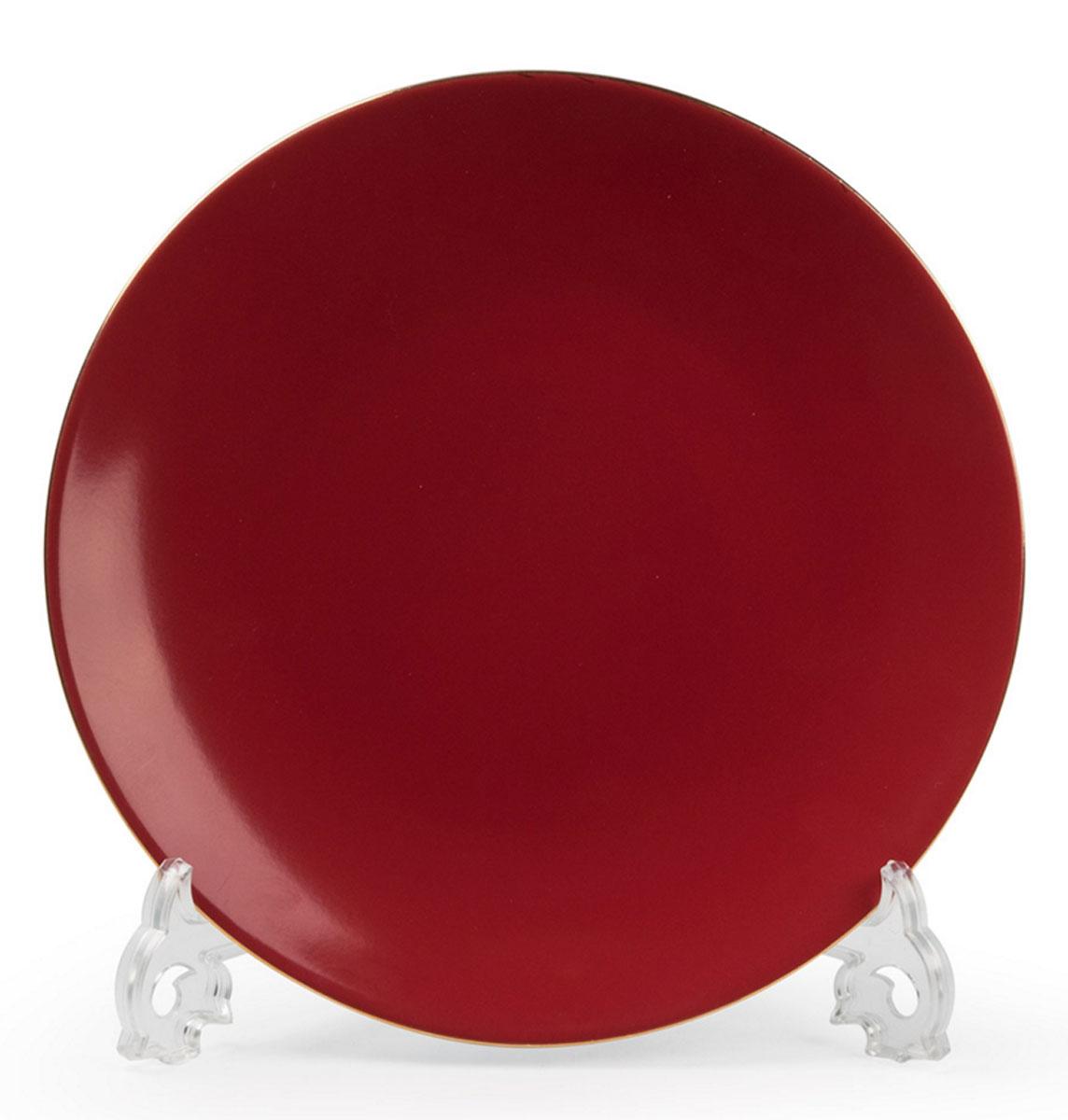 Monalisa 3125 набор тарелок 27 см*6 шт, цвет: красный с золотом7 290 063 125В наборе тарелка 27 см 6 штук