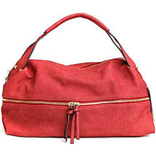 Сумка женская Milana, цвет: бордовый. 152600-1-141152600-1-141Элегантная сумка Milana выполнена из искусственной кожи. Изделие оформлено декоративной молнией с двумя собачками, которые декорированы кисточками. Сумка закрывается на застежку-молнию с двумя собачками. На лицевой стороне изделия - один втачной карман на застежке-молнии. Внутри - одно большое отделение. Также внутри - один втачной карман на застежке-молнии, и два накладных кармана для телефона и разных мелочей. В этом сезоне этот модный аксессуар поможет вам быть в тренде!