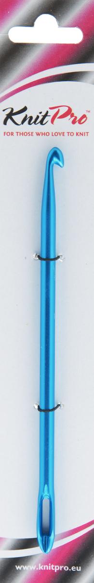 Крючок для нукинга KnitPro Waves, диаметр 6 мм30509Крючок KnitPro Waves, изготовленный из алюминия, оснащен эргономичной ручкой с ушком. Он предназначен для вязания и плетения из ниток, ручного изготовления полотна в технике нукинг. Нукинг - одна из популярных в Европе и Америке рукодельных техник, которая объединяет в себе черты классического вязания крючком, тунисского вязания и вязания на спицах. По сути - изделия в технике нукинг изготавливаются с помощью крючка, а выглядят так, как будто связаны на спицах. Головка крючка для нукинга несколько уже и острее, чем у обычного. В ушко продевается так называемая нить основы. Готовые изделия, выполненные в технике нукинг, имеют вид и текстуру полотна, связанного на спицах. При этом они очень эластичны. Лицевые и изнаночные, воздушные петли,столбики и косы - в нукинге можно опробовать любые комбинации, бесконечное множество узоров.