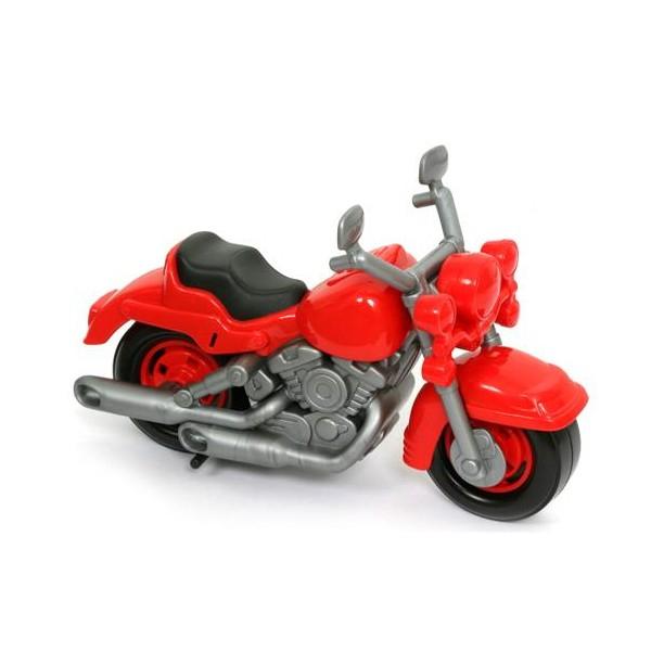 Полесье Гоночный мотоцикл Кросс цвет красный ( 6232_красный )