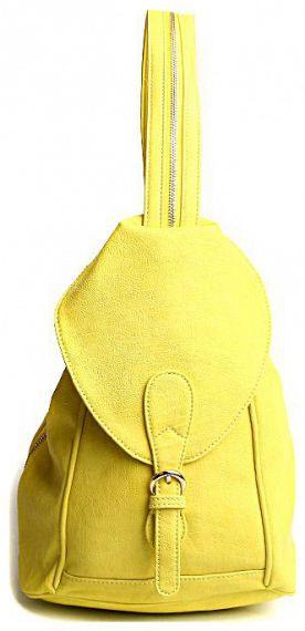 Сумка женская Milana, цвет: лимонный. 151651-2-172151651-2-172Элегантная сумка Milana выполнена из искусственной кожи. Изделие сбоку декорировано клапаном с магнитной застежкой. Сумка закрывается на застежку-молнию. На лицевой стороне изделия - два втачных кармана на застежке-молнии. Внутри - одно большое отделение. Также внутри - один втачной карман на застежке-молнии, один большой накладной карман и один навесной карман на застежке-молнии и два не больших накладных кармашка для телефона и разных мелочей. За счет кнопок ручка регулируется по длине и за счет молнии, которую модно расстегнуть, сумку модно носить как рюкзак. В этом сезоне этот модный аксессуар поможет вам быть в тренде!
