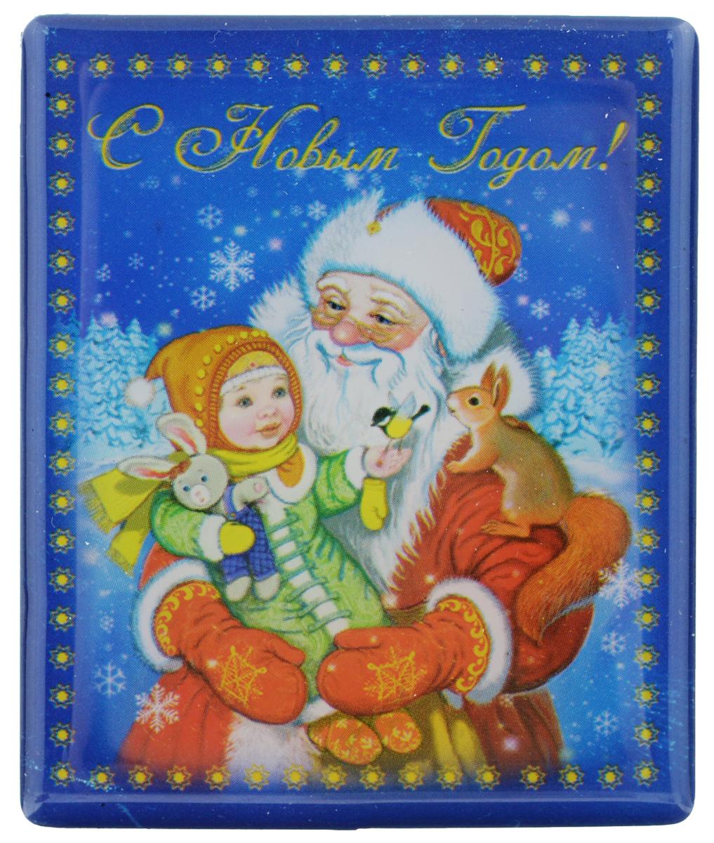 Магнит Феникс-презент Дед Мороз с ребенком, 6 см х 5 см38377Магнит прямоугольной формы Феникс-презент Дед Мороз с ребенком, выполненный из агломерированного феррита, станет приятным штрихом в повседневной жизни. Оригинальный магнит поможет вам украсить не только холодильник, но и любую другую магнитную поверхность. Материал: агломерированный феррит.