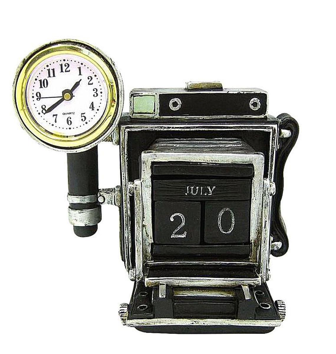 Настольный календарь с часами РЕТРО ФОТОКАМЕРА. C2514119SC2514119SНастольный календарь с часами РЕТРО ФОТОКАМЕРА
