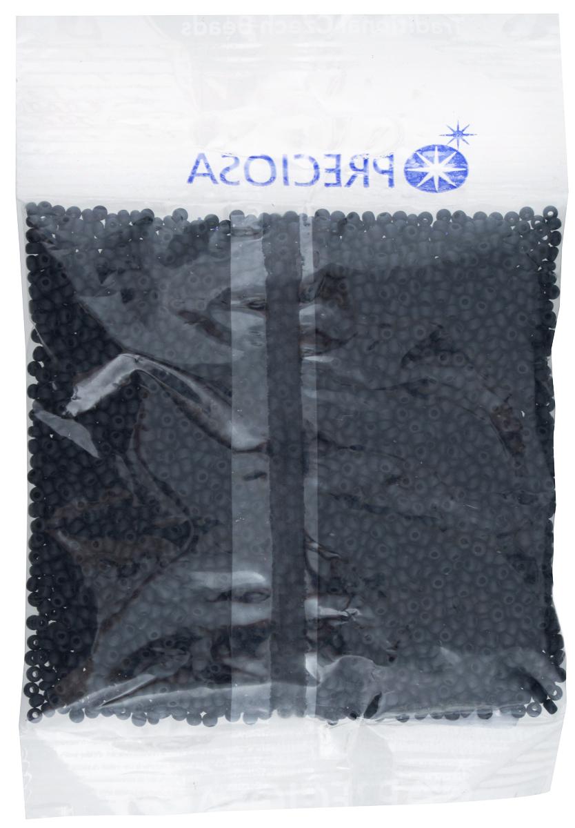 Бисер Preciosa, матовый, цвет: черный, размер 10/0, 50 г7703052Бисер Preciosa, изготовленный из стекла круглой формы, позволит вам своими руками создать оригинальные ожерелья, бусы или браслеты, а также заняться вышиванием. В бисероплетении часто используют бисер разных размеров и цветов. Он идеально подойдет для вышивания на предметах быта и женской одежде. Изготовление украшений - занимательное хобби и реализация творческих способностей рукодельницы, это возможность создания неповторимого индивидуального подарка. Размер бисера: 10/0.