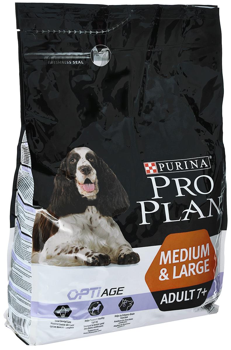 Корм сухой Pro Plan Optiage для собак средних и крупных пород старше 7 лет, с курицей и рисом, 3 кг12272681Корм сухой Pro Plan Optiage - полнорационный корм для собак средних и крупных пород старше 7 лет. Корм со специально разработанным комплексом Optiage дольше сохраняет мозговую активность и бдительность собаки. Благодаря особому запатентованному сочетанию питательных веществ такой комплекс улучшает мозговую деятельность и помогает собаке оставаться активной, подвижной и игривой в зрелом возрасте. Состав: сухой белок птицы, пшеница, кукуруза, курица (14%), глютен, продукты переработки растительного сырья, растительное масло, рис (4%), сухая мякоть свеклы, минеральные вещества, кукурузная мука, животный жир, вкусоароматическая кормовая добавка, рыбий жир, витамины, антиоксиданты. Добавленные вещества: МЕ/кг: витамин A: 20 000; витамин D3: 650; витамин E: 650; мг/кг: витамин C: 165; железо: 94; йод: 2,4; медь: 14; марганец: 44; цинк: 176; селен: 0,15. Гарантируемые показатели: белок: 25,0%; жир: 15,0%; сырая зола: 7,5%; сырая клетчатка:...