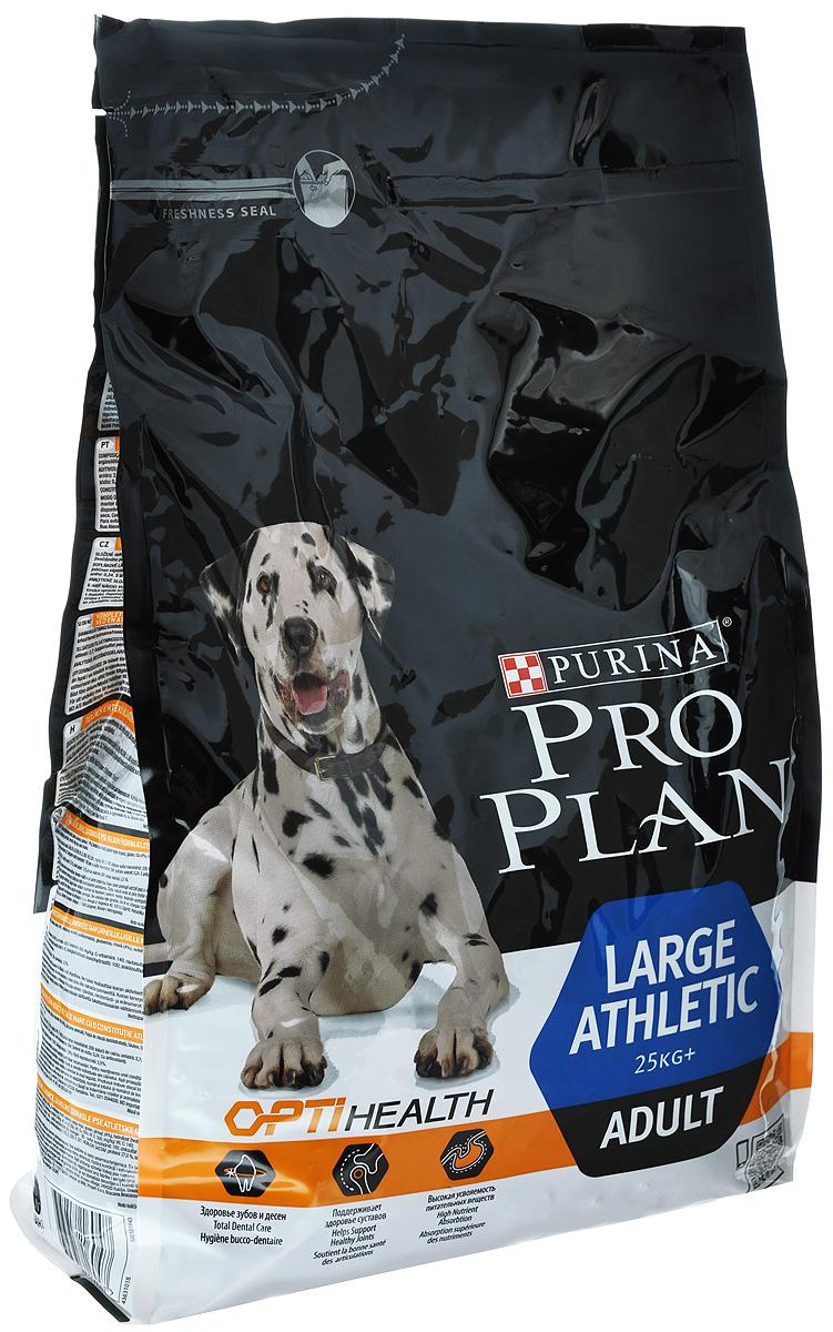 Корм сухой Pro Plan Atletik для взрослых собак крупных пород, с курицей, 3 кг12272234Сухой корм Pro Plan Atletik - полнорационный корм для взрослых собак крупных пород с атлетическим телосложением весом от 25 кг. Корм с комплексом Optihealth, с курицей и рисом. Оптимальное питание является основой здоровья и благополучия. Корм с комплексом Optihealth предоставляет современное питание, которое оказывает долгосрочное влияние на здоровье собаки. Комплекс Optihealth сочетает специально отобранные питательные вещества, необходимые собакам разных размеров и телосложения, поддерживает их особые потребности и помогает сохранить им отличное состояние. Особенности: - сочетание компонентов для здоровья зубов и десен, - высокая усвояемость питательных веществ для удовлетворения потребностей вашей собаки, - сочетание основных питательных веществ, которое помогает поддерживать здоровье суставов вашей собаки при активном образе жизни, - специальная рецептура для собак крупных пород с атлетическим телосложением, - содержит кусочки...