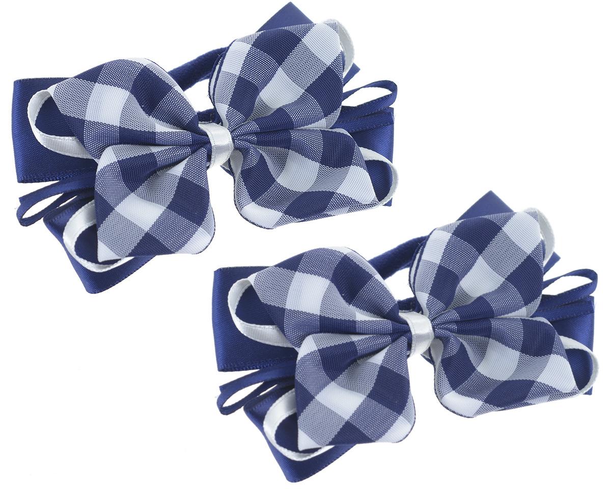 Резинка для волос Baby's Joy, цвет: белый, синий, 2 шт. MN 136/2