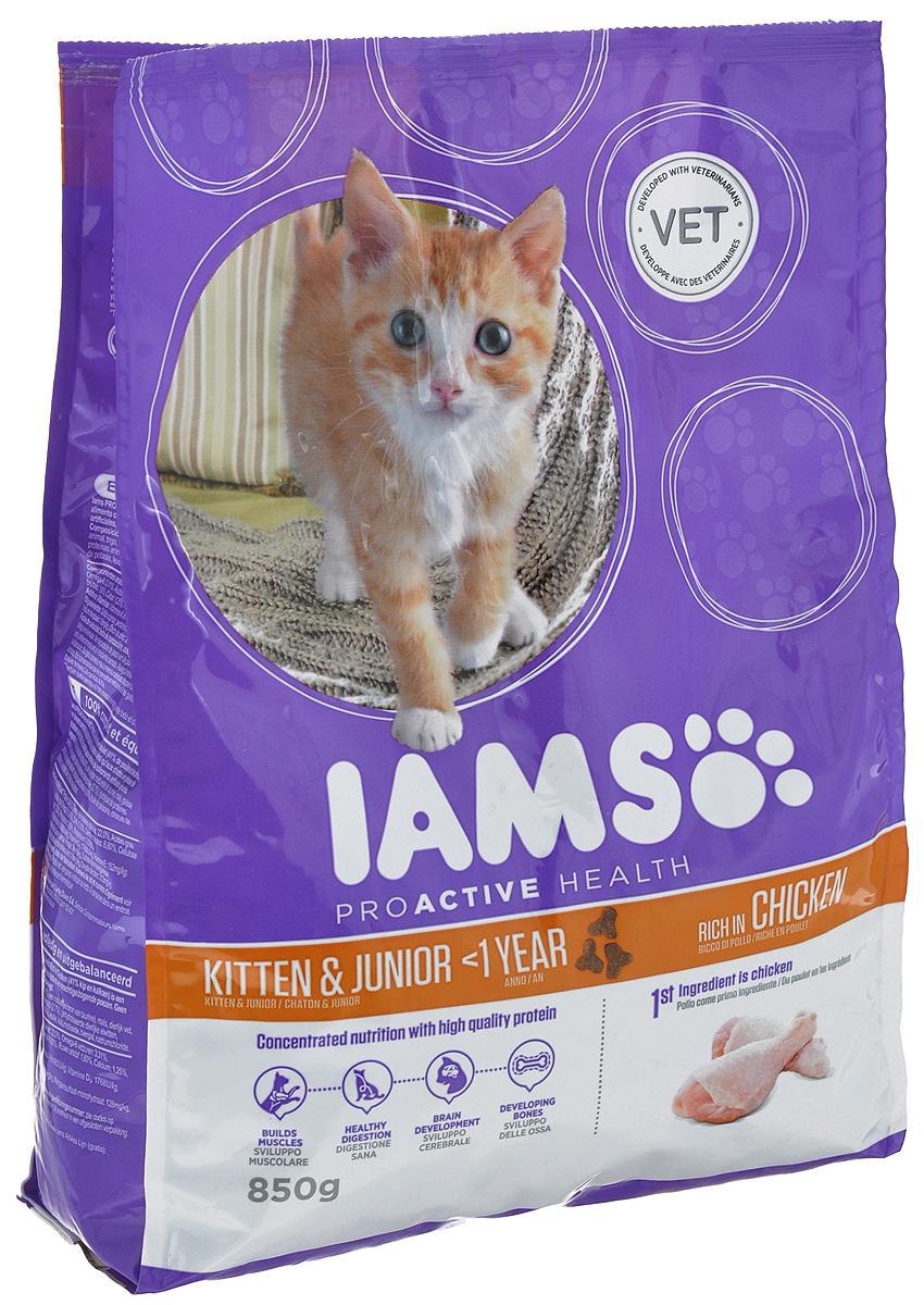 Корм сухой Iams Kitten для котят и кошек во время беременности и лактации, с курицей, 850 г81411191newСухой корм Iams Kitten является полноценным сбалансированным питанием для котят от 1 до 12 месяцев, беременных и кормящих кошек. Не содержит искусственных красителей и консервантов. Состав: сублимированное мясо курицы и индейки (41%, натуральный источник таурина), кукуруза, животный жир, пшеница, сухое цельное яйцо, сухая пульпа сахарной свеклы (2,7%), гидролизованный животный белок, кальция карбонат, фруктоолигосахариды (0,69%), рыбий жир, калия хлорид, сухие пивные дрожжи, поваренная соль. Анализ компонентов: белки - 34%, жир - 22%, жирные кислоты Омега-6 - 3,31%, жирные кислоты Омега-3 - 0,40%, ДГК - 0,10%, сырая зола - 6,80 %, сырая клетчатка - 1,80%, кальций - 1,25%, фосфор - 0,95%, магний - 0,095%. Добавки на 1 кг: витамин А - 61480 МЕ, витамин Д3 - 1768 МЕ, витамин Е - 152 мг, пентагидрат сульфата меди - 36 мг, моногидрат сульфата марганца - 128 мг, йодид калия - 1,6 мг, оксид цинка - 212 мг. Вес: 850 г. Товар сертифицирован.