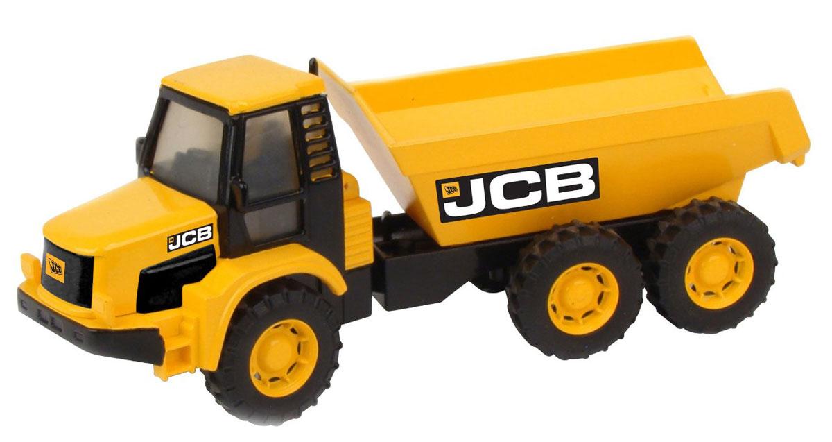 HTI Самосвал JCBsamosval/ast1415662.V15Самосвал JCB, изготовленный из прочного безопасного материала, отлично подойдет ребенку для различных игр. Самосвал - прекрасный помощник на строительной площадке. С его помощью можно перевозить камни, песок, ветки и другие грузы. Его кузов поднимается и опускается. Большие колеса с крупным протектором обеспечивают игрушке устойчивость и хорошую проходимость. Удивите своего маленького строителя новой современной техникой! Такая игрушка, несомненно, обрадует малыша и принесет ему уйму ярких впечатлений. Ваш ребенок сможет прекрасно провести время дома или на улице, воспроизводя свою стройку. Собери целую коллекцию строительной техники JCB для постройки восхитительных сооружений!