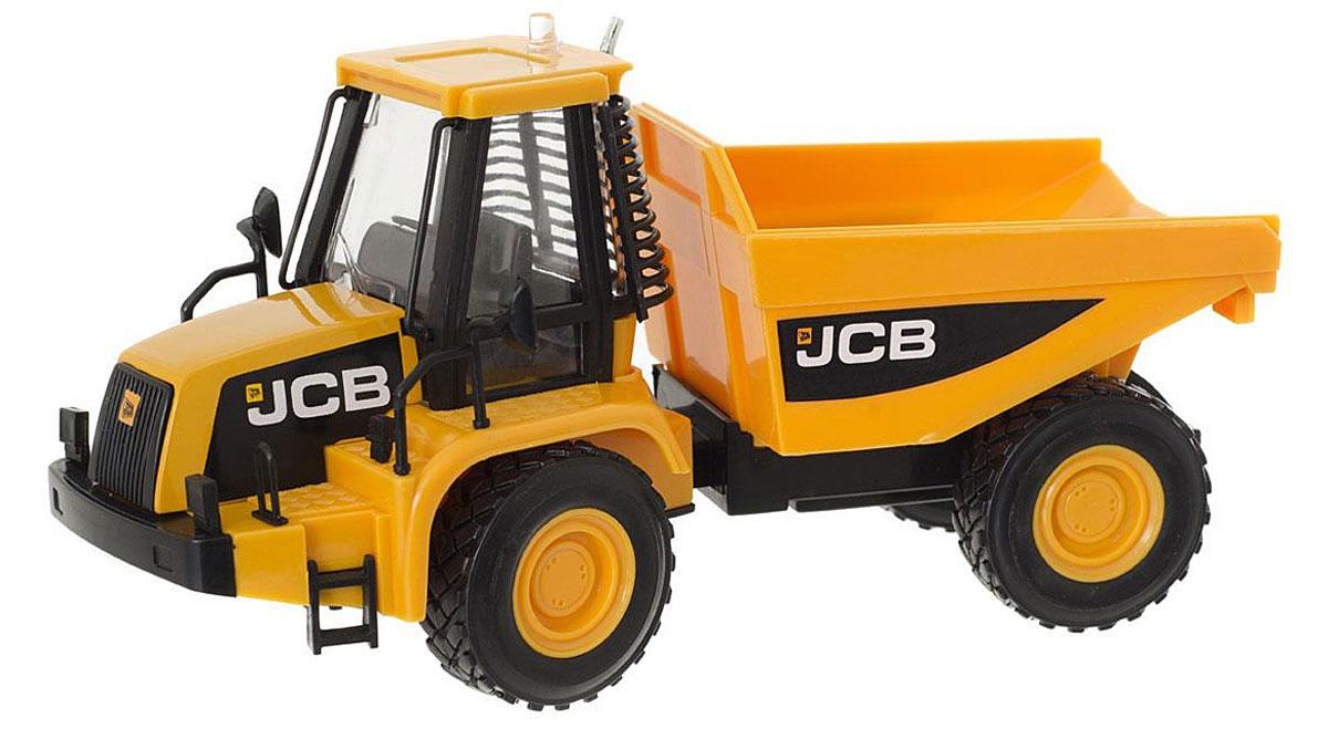 HTI Самосвал JCBsamosval/astTL107.V15Самосвал JCB, изготовленный из прочного безопасного материала, отлично подойдет ребенку для различных игр. Самосвал - прекрасный помощник на строительной площадке. С его помощью можно перевозить камни, песок, ветки и другие грузы. Его кузов поднимается и опускается. Колеса уникальной строительной машины изготовлены из прорезиненного материала, что обеспечивает прочное сцепление с дорогой, не давая скользить технике по полу и царапать его. Машинка является точной уменьшенной копией своего прототипа - настоящей строительной техники от компании JCB в масштабе 1:32. Удивите своего маленького строителя новой современной техникой! Такая игрушка, несомненно, обрадует малыша и принесет ему уйму ярких впечатлений. Ваш ребенок сможет прекрасно провести время дома или на улице, воспроизводя свою стройку. Собери целую коллекцию строительной техники JCB для постройки восхитительных сооружений!