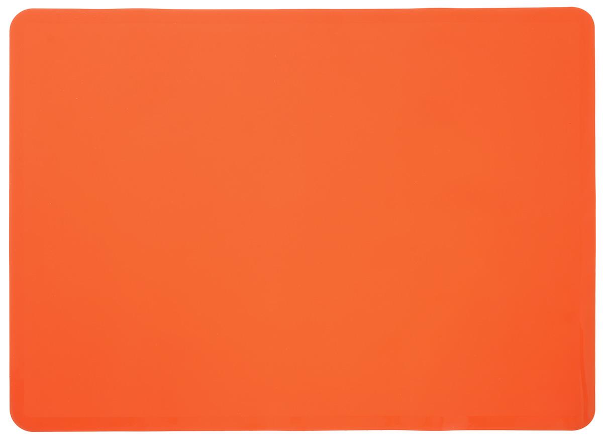 """Коврик для выпечки """"Mayer & Boch"""", цвет: оранжевый, 38 х 28 см"""