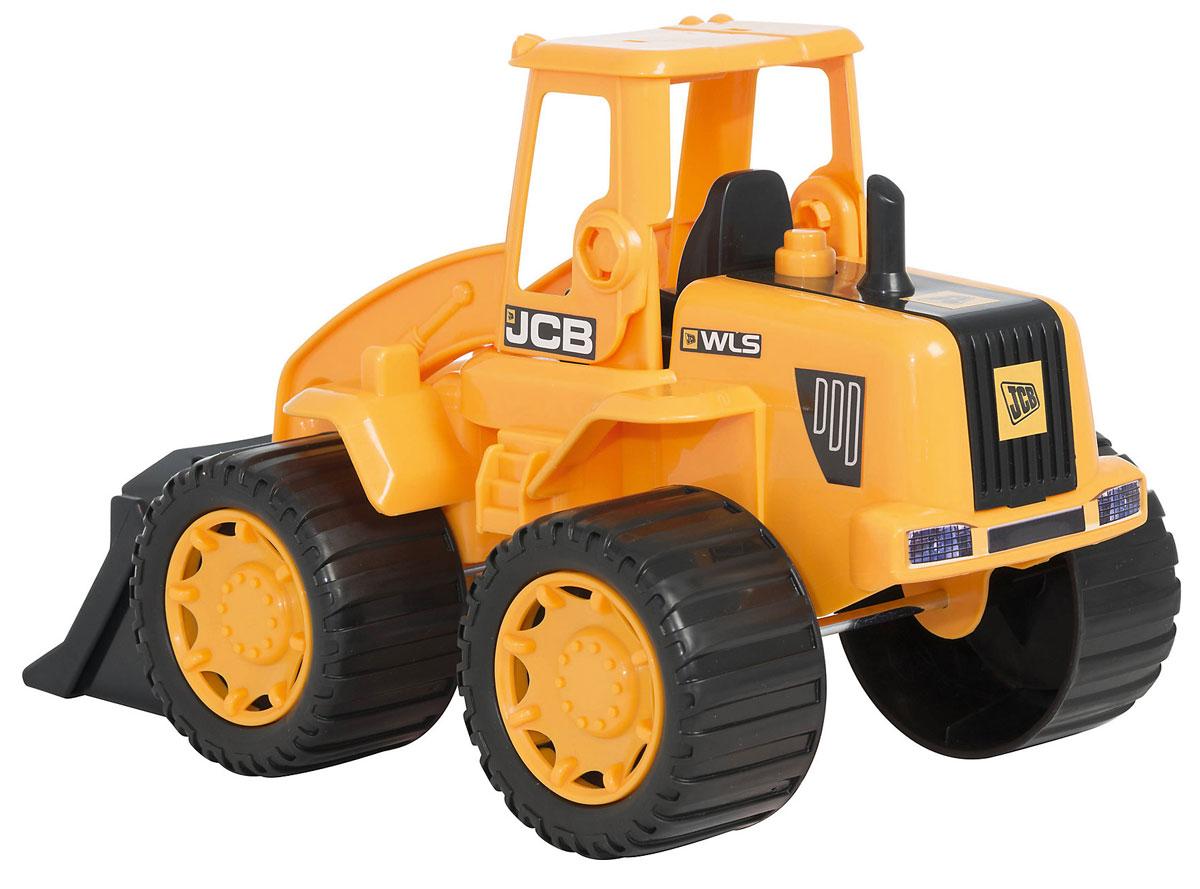HTI Автопогрузчик JCB1415273.V15BXАвтопогрузчик JCB, изготовленный из прочного безопасного материала, отлично подойдет ребенку для различных игр. Большой автопогрузчик отлично подойдет для игр ребенка на свежем воздухе, а также поможет малышу переместить мелкие игрушки с места на место. Колеса уникальной строительной машины обеспечивают прочное сцепление с дорогой. Трактор является точной уменьшенной копией своего прототипа - настоящей строительной техники от компании JCB. Удивите своего маленького строителя новой современной техникой! Такая игрушка, несомненно, обрадует малыша и принесет ему уйму ярких впечатлений. Ваш ребенок сможет прекрасно провести время дома или на улице, воспроизводя свою стройку. Собери целую коллекцию строительной техники JCB для постройки восхитительных сооружений!