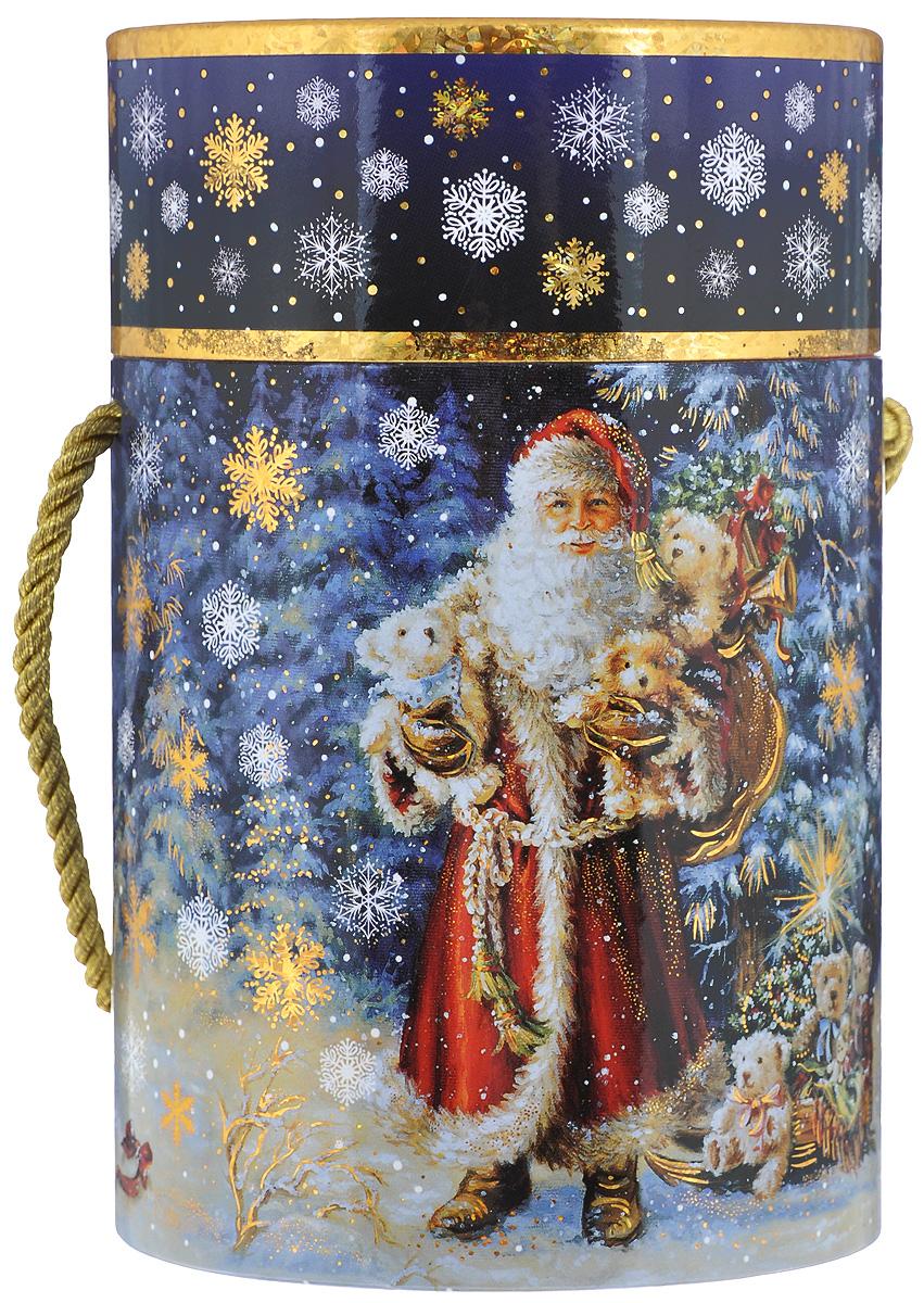 Туба подарочная Правила Успеха Волшебный лес, диаметр 11 см4610009210551Подарочная туба Правила Успеха Волшебный лес выполнена из плотного картона. Изделие оформлено ярким изображением Деда Мороза с подарками. Туба оснащена крышкой, декорированной голограммой, и текстильной ручкой. Подарочная туба - это оригинальное решение, если вы хотите порадовать ваших близких и создать праздничное настроение, ведь подарок, преподнесенный в необычной упаковке, всегда будет самым эффектным и запоминающимся. Окружите близких людей вниманием и заботой, вручив презент в нарядном, праздничном оформлении. Высота тубы: 17 см.