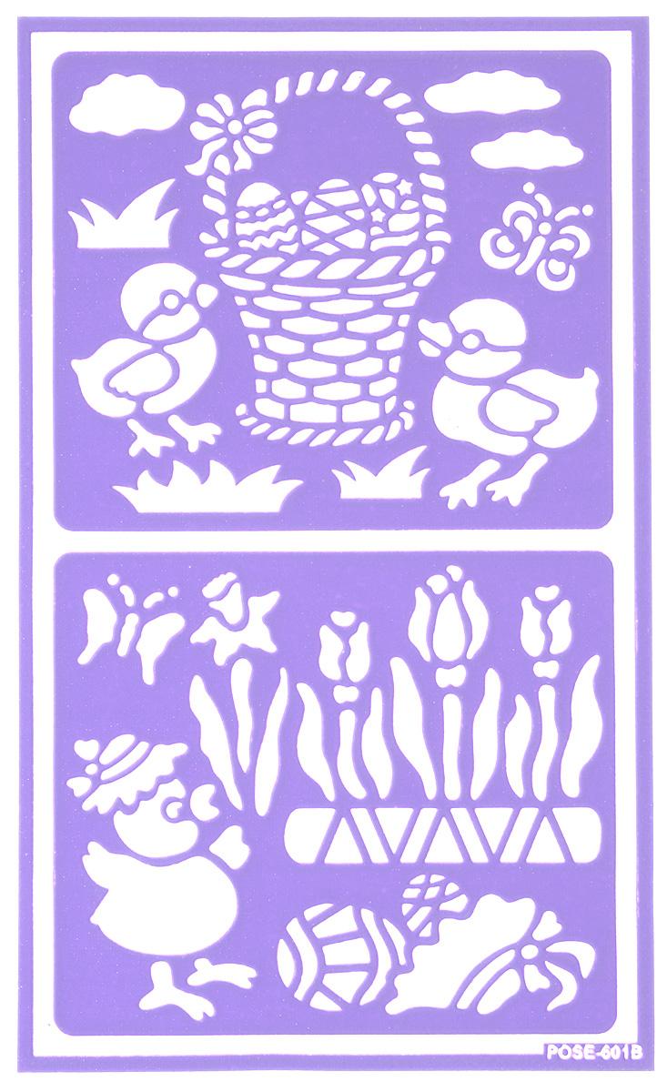 Трафарет для декорирования яиц Home Queen Пасха. Цыплята, 9 см х 15 см64522_цыплятаТрафарет Home Queen Пасха. Цыплята прекрасно подойдет для декорирования пасхальных яиц. Его также можно использовать для нанесения декоративного рисунка на посуду, изделия из стекла, металла, керамики, поздравительные открытки и прочее. Трафарет выполнен из ПВХ и рассчитан на 20 применений.
