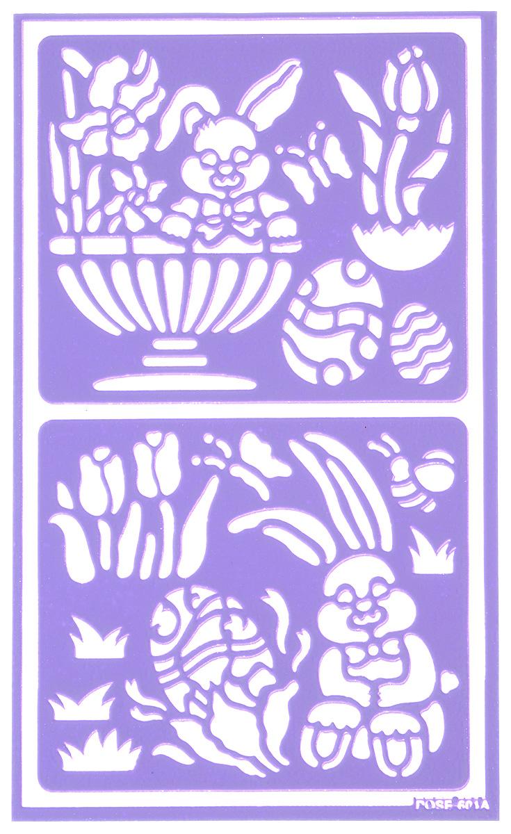 Трафарет для декорирования яиц Home Queen Пасха. Зайчата, 9 х 15 см64522_зайчатаТрафарет Home Queen Пасха. Зайчата прекрасно подойдет для декорирования пасхальных яиц. Его также можно использовать для нанесения декоративного рисунка на посуду, изделия из стекла, металла, керамики, поздравительные открытки и прочее. Трафарет выполнен из ПВХ и рассчитан на 20 применений.