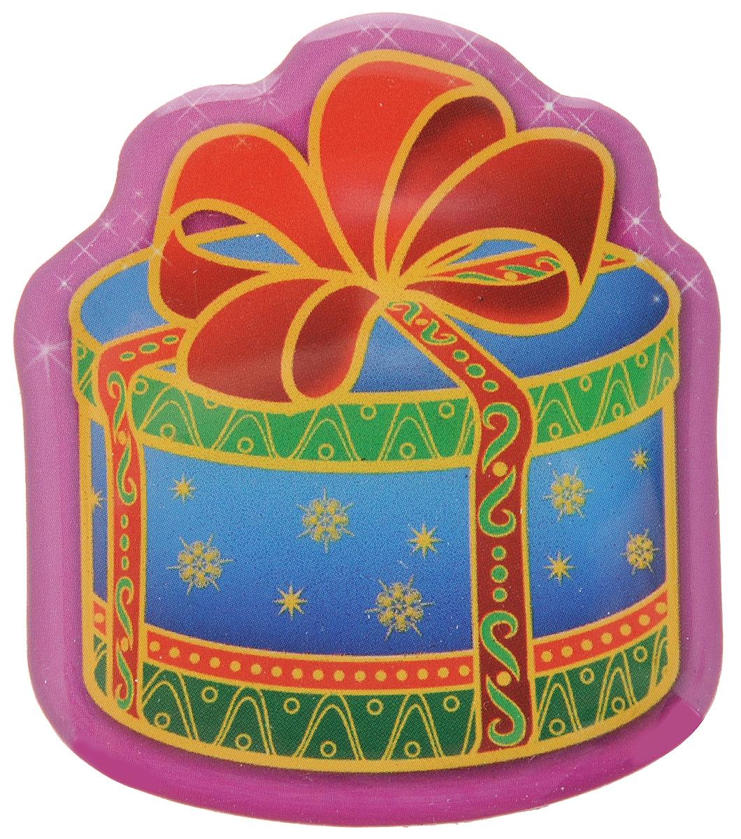 Магнит Феникс-Презент Magic Time, 6,5 х 5,5 см31543Магнит в форме подарка Феникс-Презент Magic Time, выполненный из агломерированного феррита, станет приятным штрихом в повседневной жизни. Оригинальный магнит, декорированный изображением подарка с бантом, поможет вам украсить не только холодильник, но и любую другую магнитную поверхность. Материал: агломерированный феррит.
