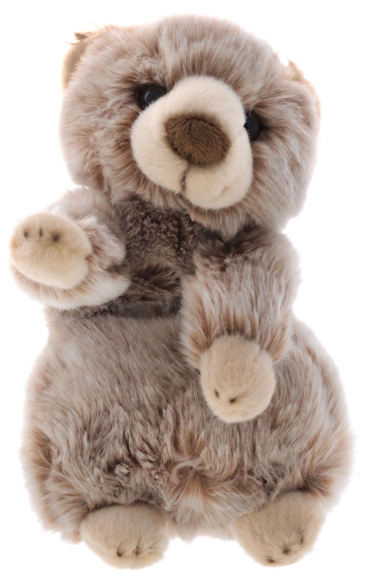 Maxi Toys Мягкая игрушка Медвежонок цвет коричневый 24 смMT-TSC091411-24Очаровательная мягкая игрушка Медвежонок, выполненная в виде милого стоящего на задних лапках медвежонка. Игрушка, выполненная в светло-коричневом цвете, вызовет умиление и улыбку у каждого, кто ее увидит. У мишки большие блестящие глазки и длинная шерстка. Удивительно мягкая игрушка принесет радость и подарит своему обладателю мгновения нежных объятий и приятных воспоминаний. Она выполнена из высококачественного искусственного меха с набивкой из мягкого полиэфирного волокна. Великолепное качество исполнения делают эту игрушку чудесным подарком к любому празднику.