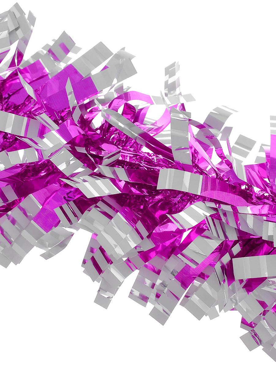 Мишура новогодняя Euro House, цвет: розовый, диаметр 9 см, длина 200 смЕХ7421_розовыйНовогодняя мишура Euro House, выполненная из полиэстера, поможет вам украсить свой дом к предстоящим праздникам. Новогодняя елка с таким украшением станет еще наряднее. Мишура армирована, то есть имеет проволоку внутри и способна сохранять придаваемую ей форму. Новогодней мишурой можно украсить все, что угодно - елку, квартиру, дачу, офис - как внутри, так и снаружи. Можно сложить новогодние поздравления, буквы и цифры, мишурой можно украсить и дополнить гирлянды, можно выделить дверные колонны, оплести дверные проемы.