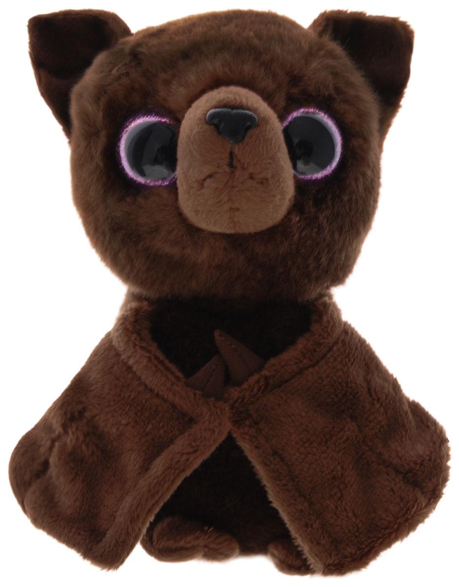 Maxi Toys Мягкая игрушка Летучая Мышь цвет коричневый 17 смMT-TSC091422-21Очаровательная мягкая игрушка Летучая Мышь, выполненная в виде милой летучей мышки глубокого коричневого цвета, вызовет умиление и улыбку у каждого, кто ее увидит. У мышки огромные блестящие глазки и торчащие ушки. Удивительно мягкая игрушка принесет радость и подарит своему обладателю мгновения нежных объятий и приятных воспоминаний. Она выполнена из высококачественного искусственного меха с набивкой из мягкого полиэфирного волокна. Великолепное качество исполнения делают эту игрушку чудесным подарком к любому празднику.