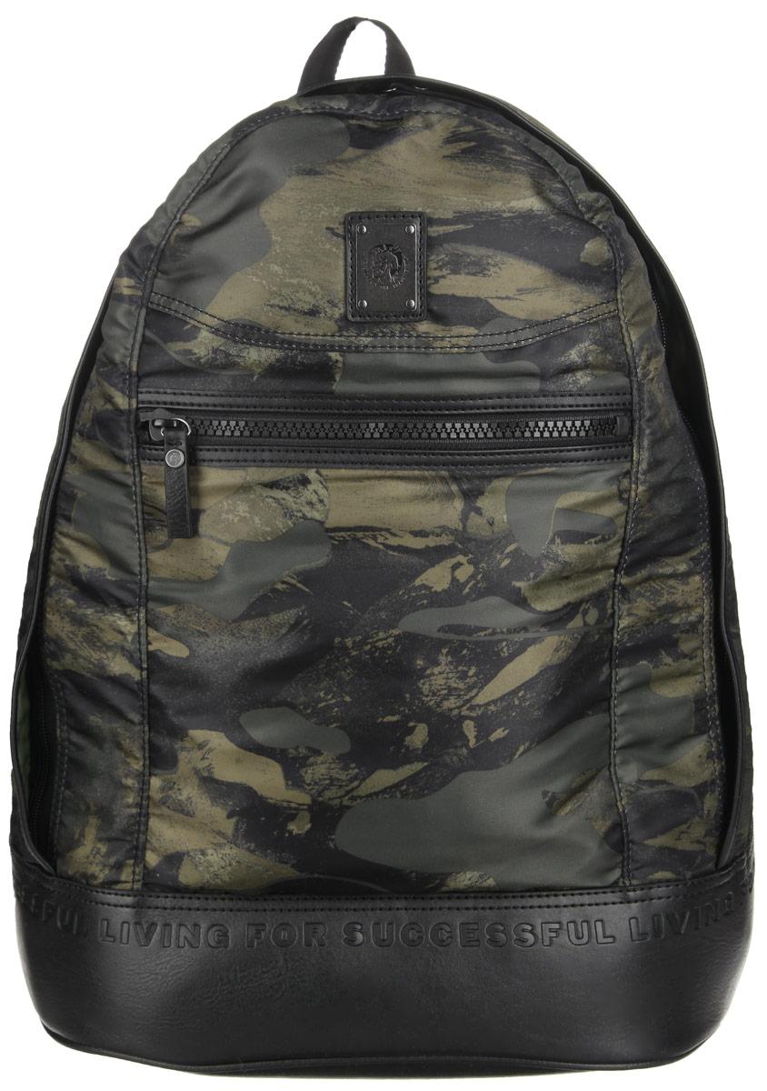 Рюкзак мужской Diesel, цвет: хаки. X03485-PR608/H5254