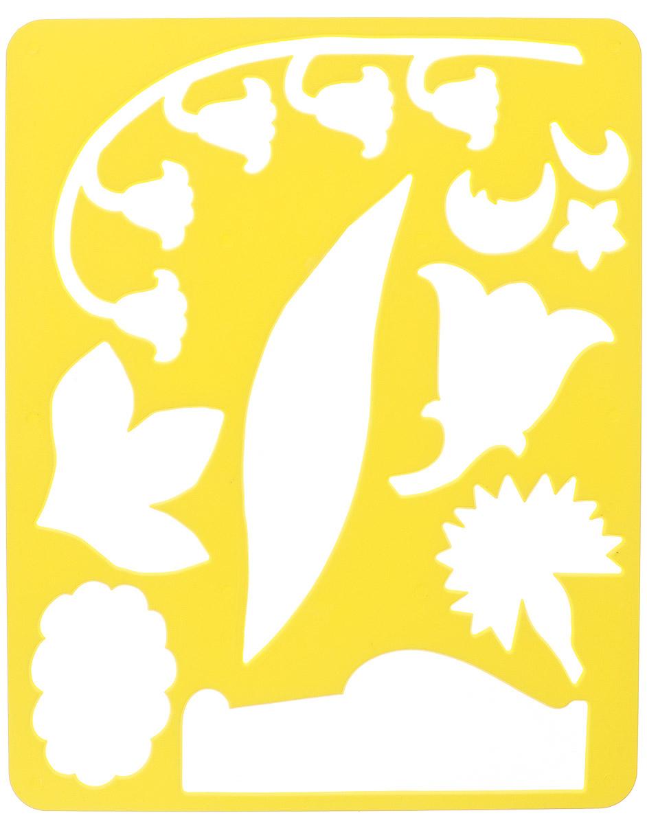 Луч Трафарет прорезной Цветы луговые цвет основы желтый10С 566-08_желтыйТрафарет Луч Цветы луговые, выполненный из безопасного пластика, предназначен для детского творчества. По трафарету маленькие художники смогут нарисовать красивый букет из луговых цветов и поместить его в вазу. Для этого необходимо положить трафарет на лист бумаги, обвести фигуру по контуру и раскрасить по своему вкусу или глядя на цветную картинку-образец. Трафареты предназначены для развития у детей мелкой моторики и зрительно- двигательной координации, навыков художественной композиции и зрительного восприятия.
