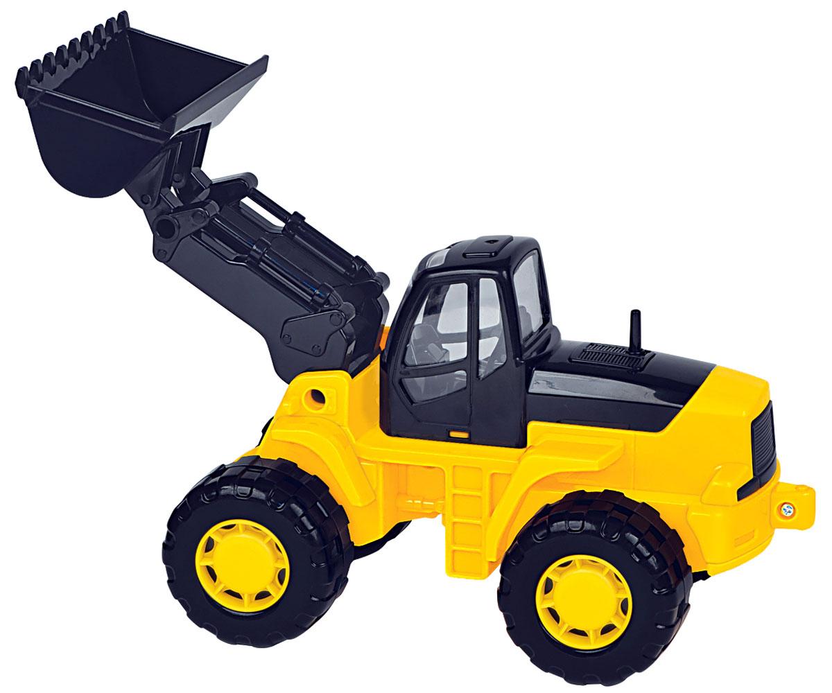 Полесье Трактор-погрузчик Умелец цвет желтый ( 35400_желтый )