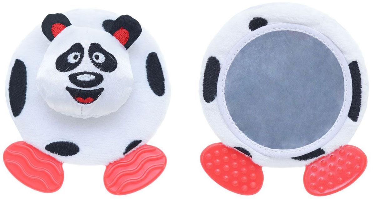 WeeWise Игрушка-прорезыватель Крути-верти Панда40110_пандаИгрушка-прорезыватель WeeWise Крути-верти. Панда отлично подойдет для развлечения и развития малыша. Изделие представлено в виде милой панды. На корпусе игрушки закреплено безопасное зеркальце и прорезыватель для зубиков. Голова панды вращается с щелкающим звуком. Лапки - мягкие прорезыватели с разнотекстурной поверхностью для чешущихся десен и режущихся зубиков. Игрушка-прорезыватель Панда оказывает влияние на развитие ребенка - захватывает внимание ребенка, укрепляет зрение, стимулирует слух, развивает тактильные ощущения, стимулирует любопытство и навыки исследования.