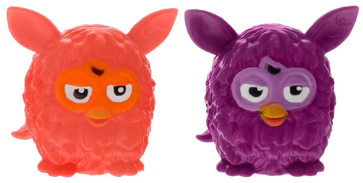 Hasbro Фигурка-мялка Furby цвет оранжевый фиолетовый 2 шт51921-0000012-01Фигурка-мялка Hasbro Furby сделана из полимера с пластичным наполнителем. Играть с такими игрушками приятно - их можно мять, а они принимают первоначальную форму. Это прекрасное антистрессовое средство для любого возраста. Высота фигурки - 5 см.