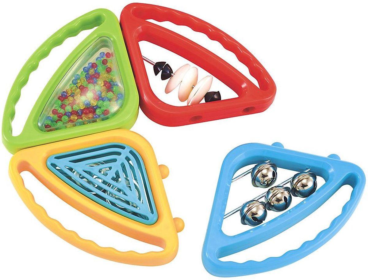 ELC Развивающая игрушка Бубен-трансформер130776Яркая развивающая игрушка ELC Бубен-трансформер обязательно понравится вашему малышу и доставит ему массу положительных эмоций. Игрушка в виде бубна состоит из четырех оригинальных частей. Четыре погремушки, и у каждой - свой особый звук. Сцепим их вместе - получится оркестр! Игрушка развивает слуховые и тактильные способности вашего ребенка.
