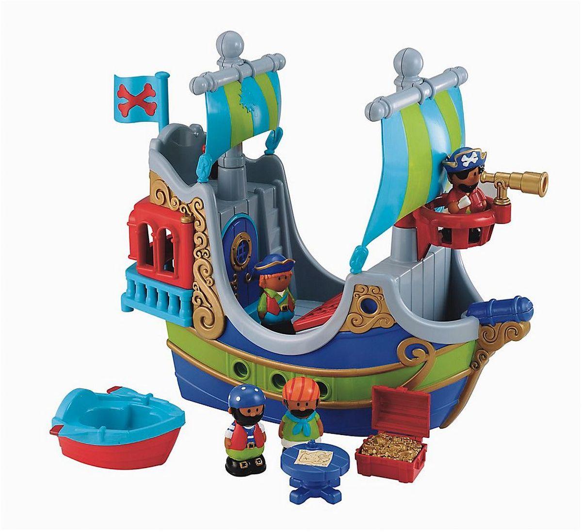 ELC Игровой набор игрушек Пиратский корабль