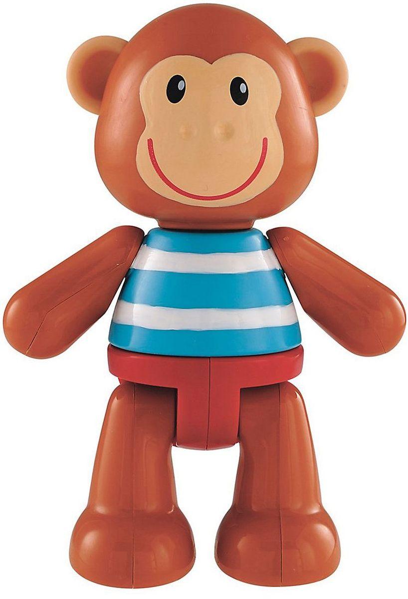 ELC Фигурка Обезьянка137318Яркая фигурка обезьянки. Ноги, руки и голова персонажа двигаются (раздаются щелчки), а ушки сделаны из мягкой резины. Красочная игрушка прекрасно подходит для развития мелкой моторики и воображения вашего ребенка. Удобен для держания маленькой ручкой. Высота фигурки 12 см. Материал - высококачественный пластик. Размер упаковки: 5,2 х 7,7 х 11,1 см