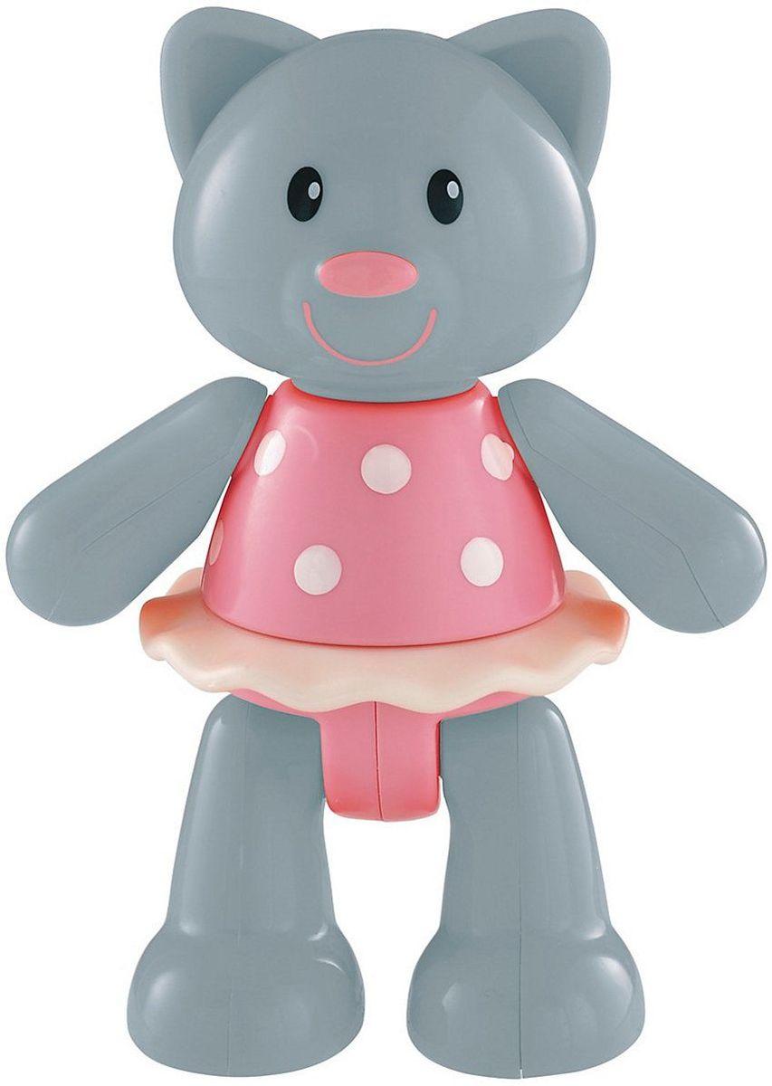 ELC Фигурка Кошка137322Яркая фигурка ELC Кошка обязательно покорит сердце вашего малыша. Милая кошечка в розовом платье задорно улыбается. Ноги, руки и голова фигурки двигаются, издавая негромкие щелчки. Ушки изготовлены из мягкой резины. Красочная игрушка прекрасно подходит для развития мелкой моторики и воображения вашего ребенка. Размер фигурки удобен для держания маленькой ручкой. Игрушка изготовлена из качественного безопасного пластика.
