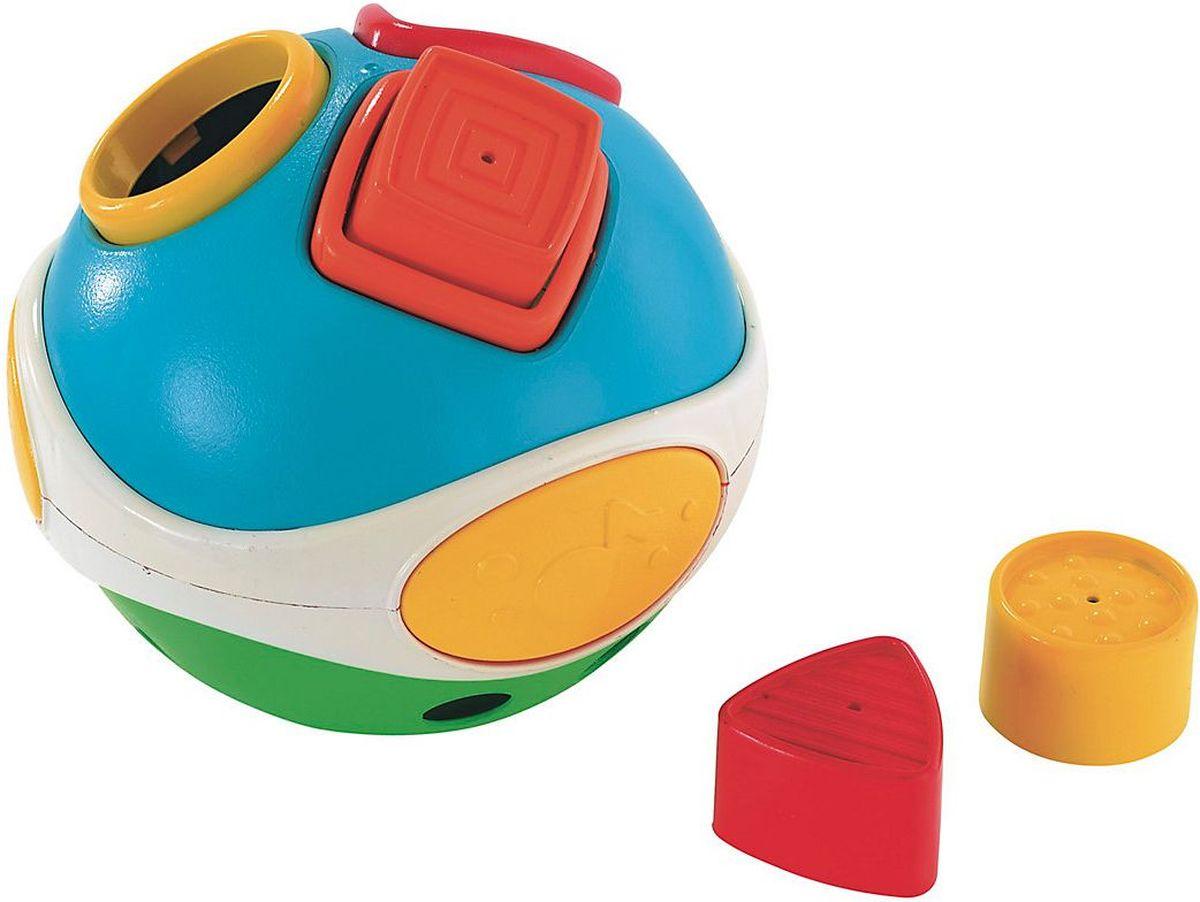 ELC Сортер Игрушка-сортер Мяч138335Этот сортер отлично подходит для мотивации к ползанью и первым шагам. Состоит из трех ярких фигур для сортировки.