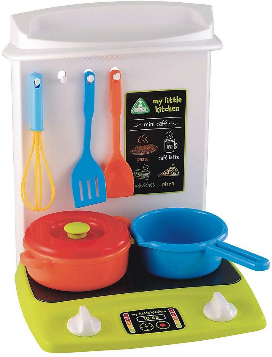 ELC Игровой набор Кухня138436Игровой набор Кухня - многофункциональная кухня с аксессуарами. В комплекте к этой компактной кухне есть все для приготовления вкусной и полезной еды. Давай накормим кукол и плюшевых мишек вместе! И не забудь помыть посуду и повесить сушиться на крючки. Если ваш ребенок любит помогать маме на кухне, играть с посудой, варить и жарить, но вам приходится ограничивать его в игре с бьющимися предметами кухонной утвари, то эта детская кухня создана специально для юного поваренка. С такой кухней ваш ребенок сможет устроить для своих игрушек удивительный обед. Порадуйте его таким замечательным подарком! Игровой набор Кухня научит маленькую хозяйку правильно обращаться с бытовой техникой, и организовывать чаепития. Этот набор развивает фантазию, расширяет кругозор ребенка и помогает развить хозяйственные навыки.