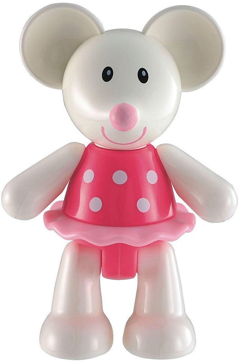 ELC Фигурка Мышка139178Яркая фигурка ELC Мышка обязательно покорит сердце вашего малыша. Мышка в розовом платье забавно улыбается. Ноги, руки и голова фигурки двигаются, издавая негромкие щелчки. Ушки изготовлены из мягкой резины. Красочная игрушка прекрасно подходит для развития мелкой моторики и воображения вашего ребенка. Размер фигурки удобен для держания маленькой ручкой. Игрушка изготовлена из качественного безопасного пластика. 11,1 см