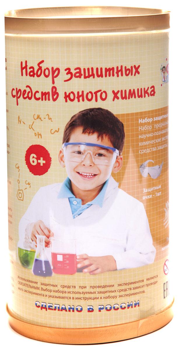 Qiddycome X008 Серия лучших химических экспериментов Защитный набор юного химикаX008Набор защитных средств юного химика СуперПрофессор. Набор предназначен для использования совместно с научно-познавательными наборами серии Лучшие химические эксперименты* и включает в себя: - защитные очки, - респиратор, - перчатки нитриловые, - перчатки латексные, - защитный фартук ламинированный.
