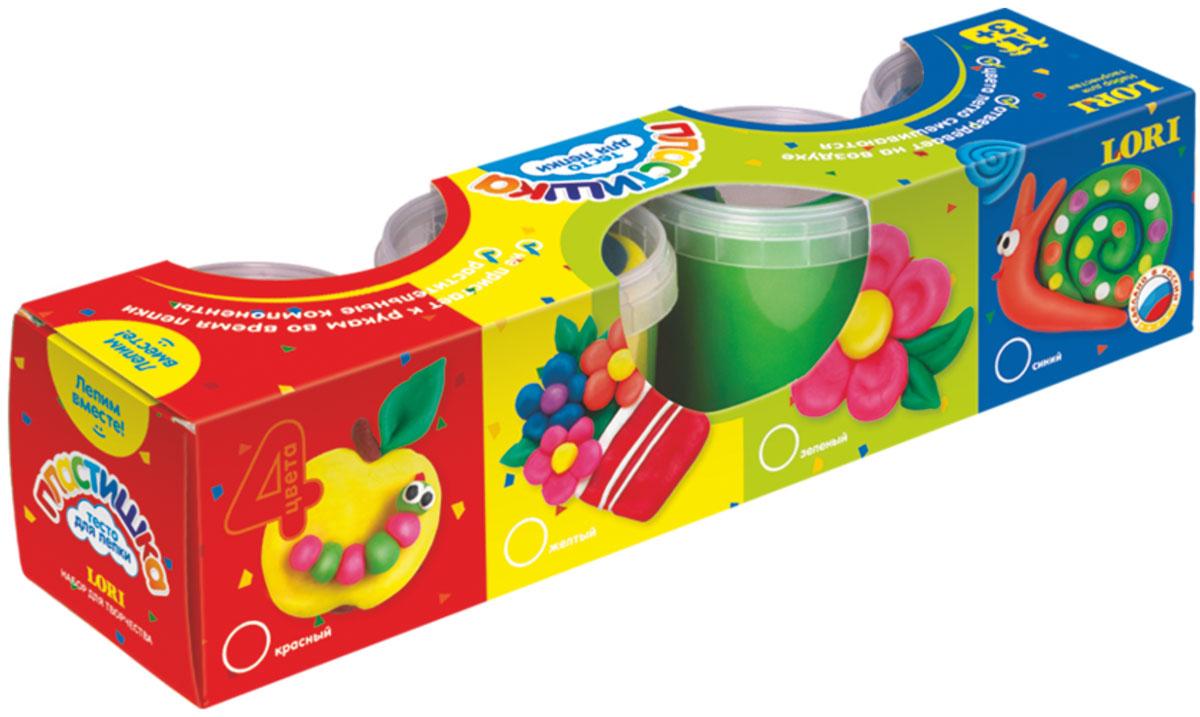 Lori ПЛАСТИШКА. Тесто для лепкиТдл-007Лепка из соленого теста различных цветов - одно из самых увлекательных занятий для ребенка, являющееся более простым способом изображения по сравнению с рисованием. Свойство теста затвердевать позволяет использовать готовые фигурки в играх. Тесто является соленым, содержит только растительные компоненты, цвета легко смешиваются, затвердевает на воздухе, не пристает к рукам во время лепки.